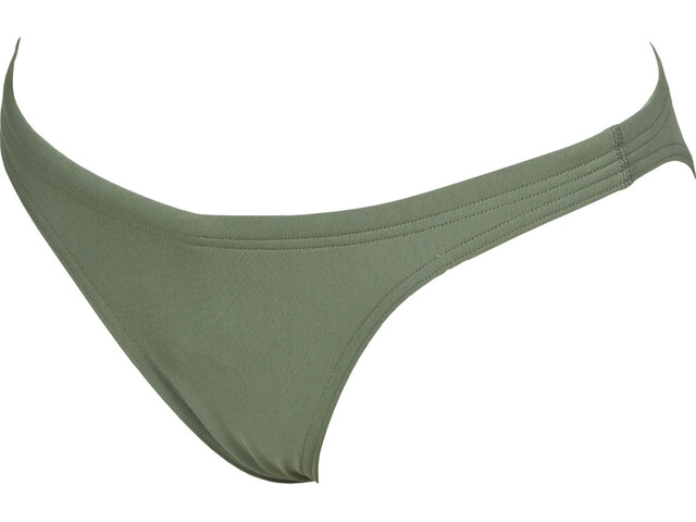 arena Solid Parte inferior Mujer, army-shiny green
